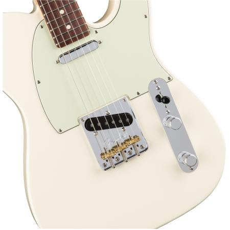 Fender American Pro Telecaster®, RW, Olympic White Guitarra eléctrica