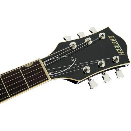 Gretsch G6609 Players Edition Broadkaster® Center Block Double-Cut with V-Stoptail, USA Full'Tron™ Pickups, Black