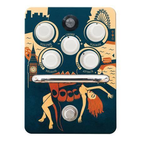 Orange kongpressor pedal guitarra