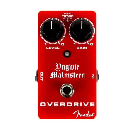 Fender Malmsteen Overdrive Pedal, Red, Pedal guitarra