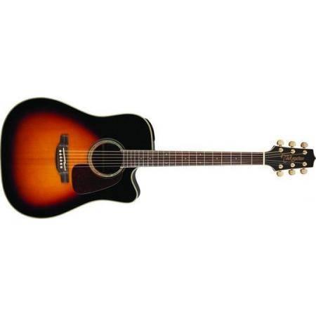 Takamine GD71CE Guitarra Electroacústica Dreadnought brown sunburst