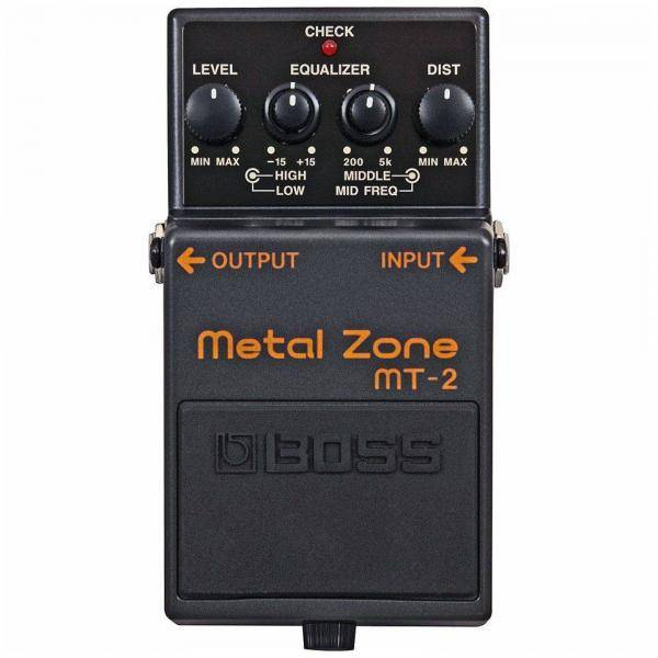 Boss MT 2 Pedal Guitarra Metal Zone