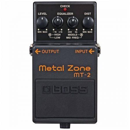 Boss MT 2 Pedal Guitarra Metal Zone