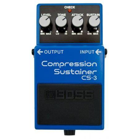 Pedal Compressor Guitarra Boss CS-3