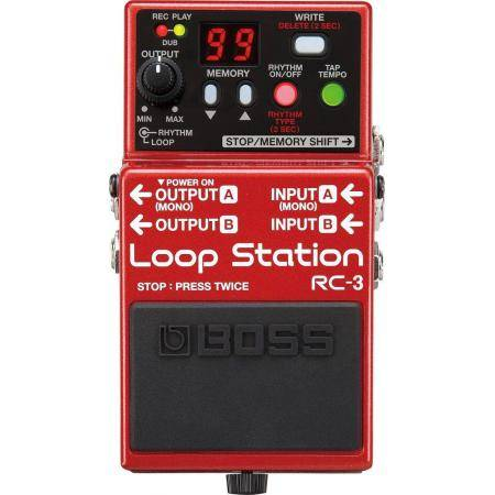 BOSS RC3 PEDAL LOOP STATION