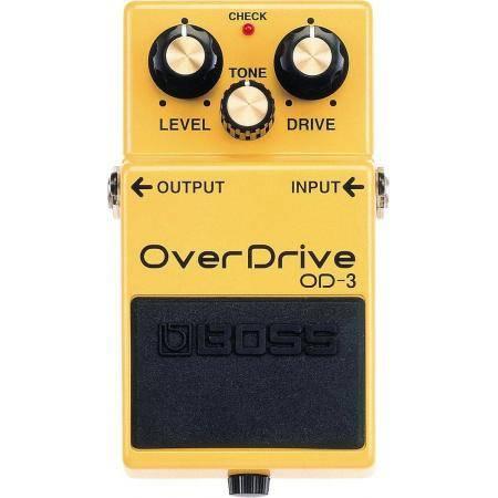Boss OD 3 Pedal Overdrive Guitarra