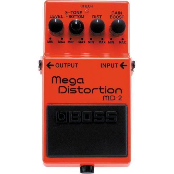 Boss MD 2 Pedal Mega Distorsión Guitarra