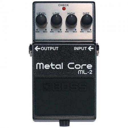 Pedal Guitarra Metal Core Boss ML-2