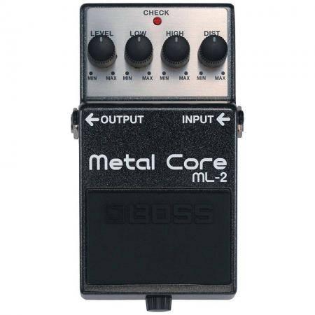 Pedal Guitarra Metal Core Boss ML-2
