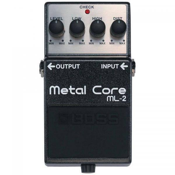 Boss ML 2 Pedal Guitarra Metal Core