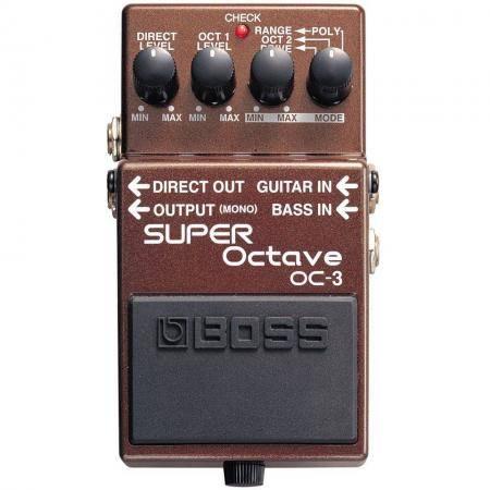 Pedal Octavador Guitarra Boss OC-3