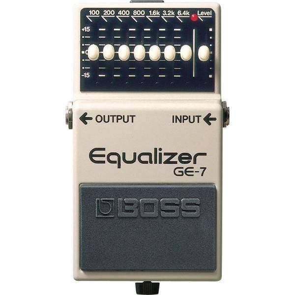 Boss GE 7 Pedal Guitarra