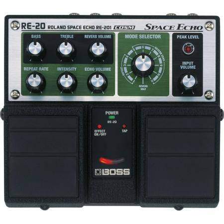BOSS RE 20 PEDAL GUITARRA