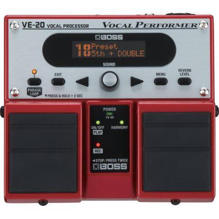 BOSS VE20 PEDAL VOCAL