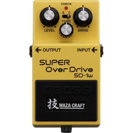 Boss super overdrive waza craft
