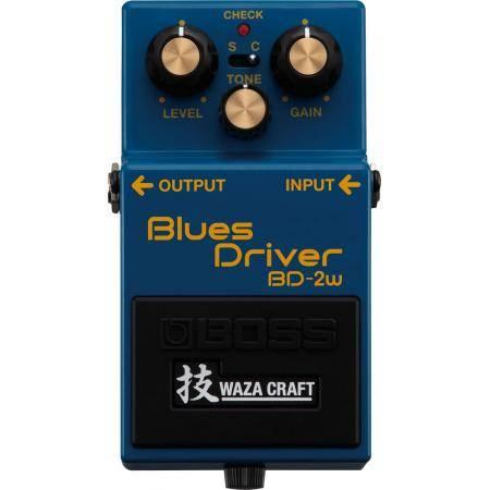 Boss BD 2 W Pedal Blues Driver Waza Craft