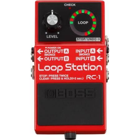 Boss RC1 Pedal Loop Station Guitarra