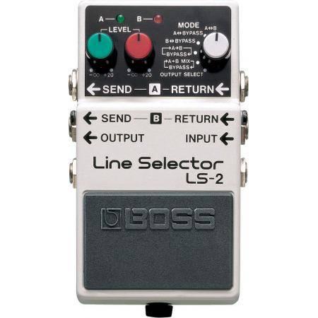 Boss LS2 Pedal Selector