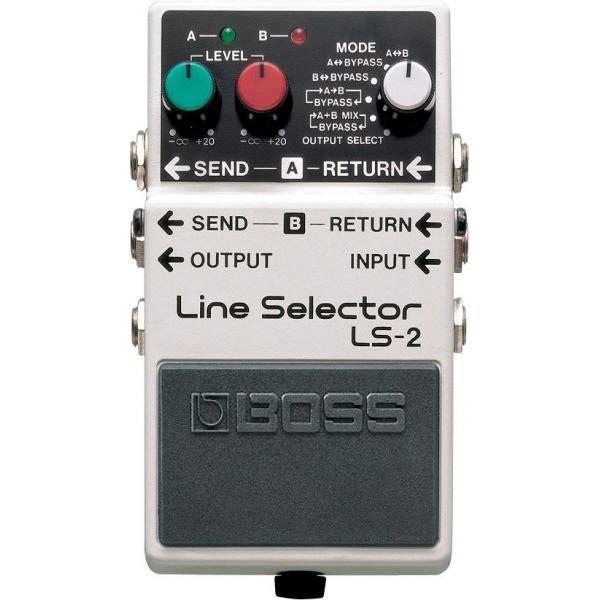Boss LS-2 Pedal Selector