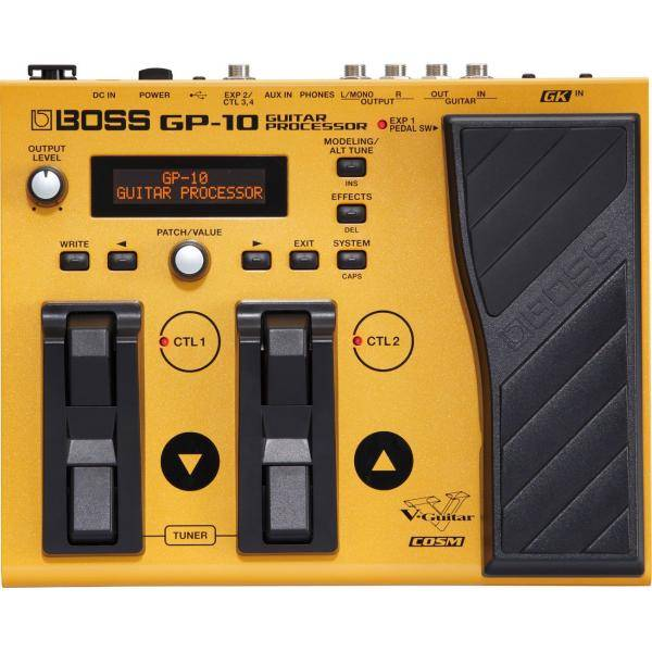 Boss GP10S Procesador multiefectos Guitarra