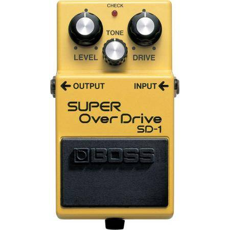 Boss SD 1 Pedal Overdrive Guitarra