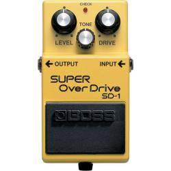 Boss SD 1 Pedal Overdrive Guitarra