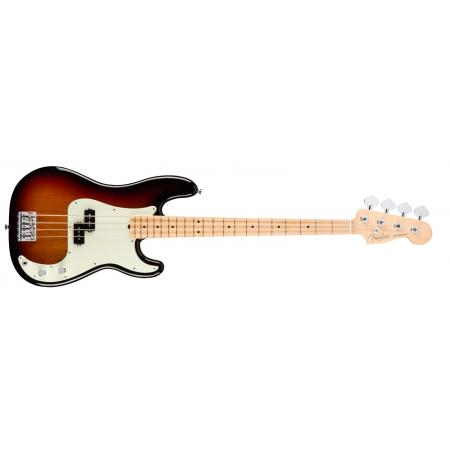 Fender American Pro Precision Bass®, Maple Fingerboard, 3CS, Bajo eléctrico