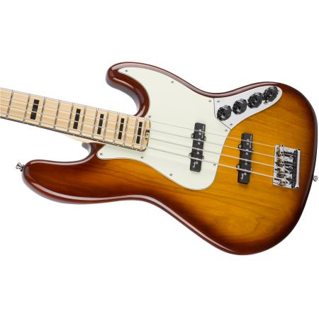 Fender American Elite Jazz Bass® Ash, Maple Fingerboard, TBS, Bajo eléctrico