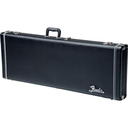 Fender Pro Series Stratocaster®/Telecaster® Case - Black with Black Acrylic Interior