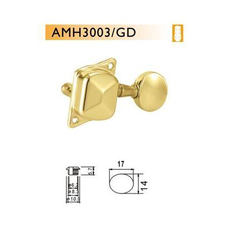 Clavijero guitarra acústica Dr Parts AMH3003/GD