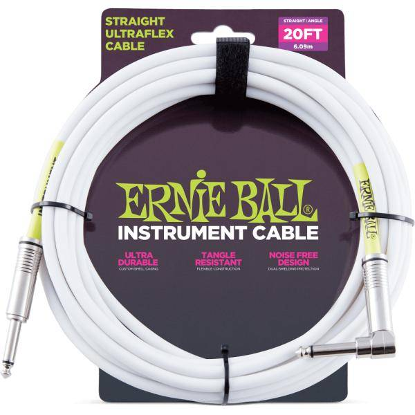 "Ernie Ball Ultraflex 20"" Cable instrumento"
