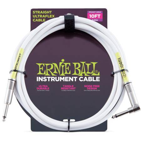 "Ernie Ball Ultraflex BK 10"" Cable instrumento"