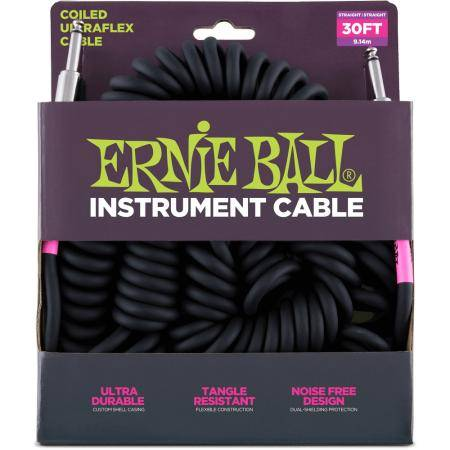 Ernie Ball Ultraflex Spiral WH Cable instrumento