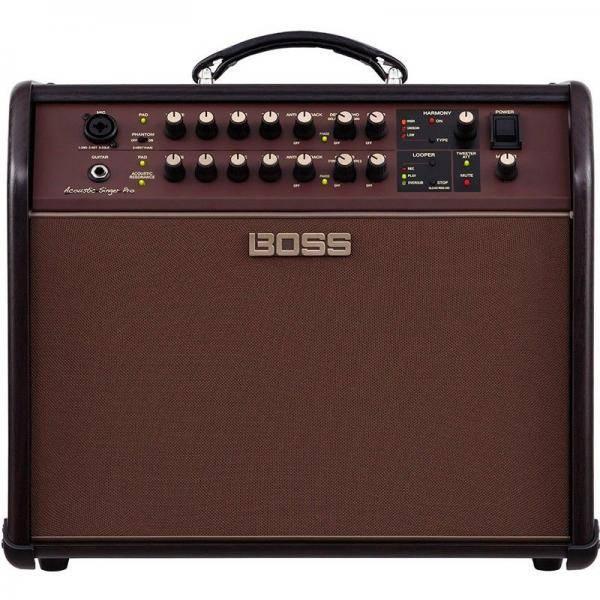 Boss Acoustic Singer Pro Amplificador Guitarra acústica