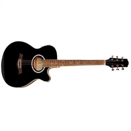 Memphis A95SCET BK Guitarra electroacústica