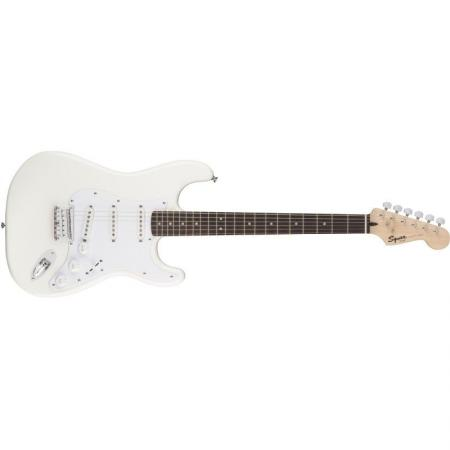 SQUIER STRATOCASTER HARDTAIL AW WHITE GUIT.EL