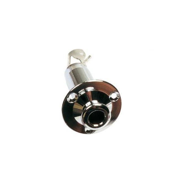 Pin de entrada de Jack de serie deluxe Vlido para guitarras elctricas o electroacsticas