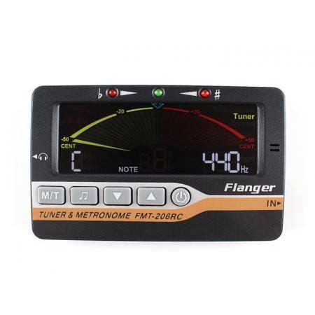 FLANGER METRÓNOMO DIGITAL FMT206RC