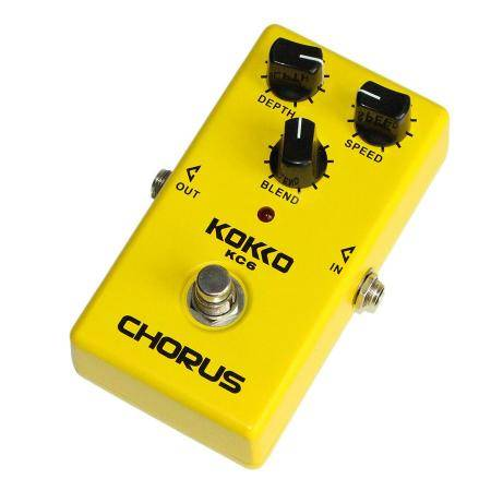 Flanger KC6 Chorus Pedal guitarra