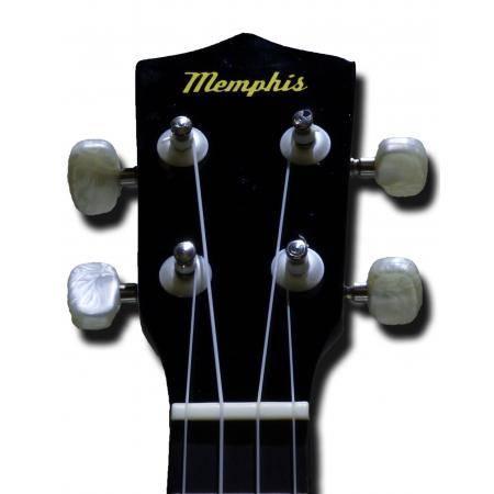 Memphis KUBWLR Ukelele Soprano negro