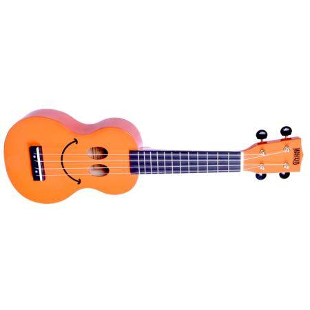 MAHALO SMILE ORANGE UKELELE