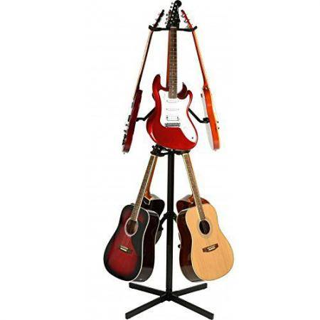 Memphis soporte 6 guitarras estilo recto