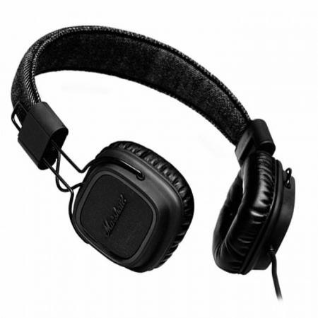AURICULARES MARSHALL MAJOR SERIES Pitchblack
