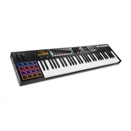 M AUDIO CODE 61 TECLADO CONTROLADOR USB MIDI Black