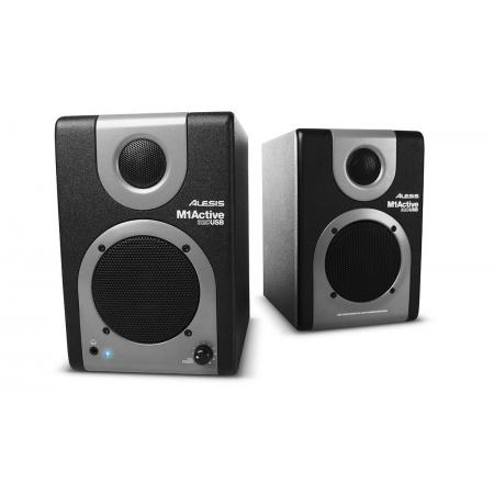 ALESIS Monitores Bi amplificados de Estudio M1A320USB Activos con interface USB Integrada 20W