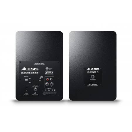 ALESIS Monitores de Estudio ELEVATE 5Activos 40W par