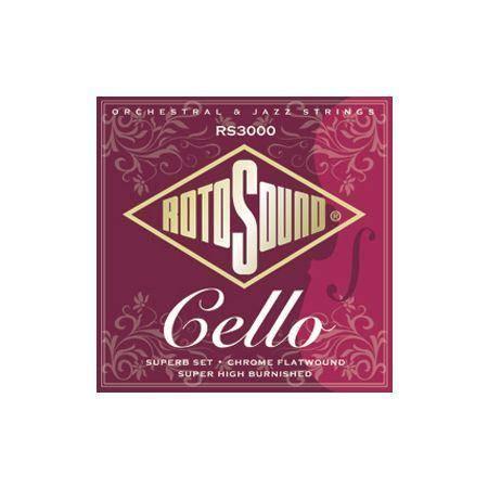 Cuerda Cello ROTOSOUND RS3000 Juego