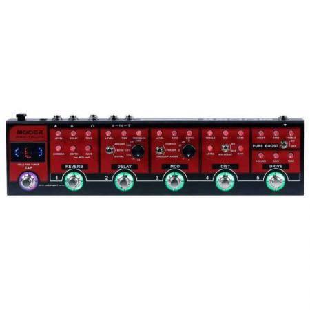 Mooer red truck pedal de efectos combinados