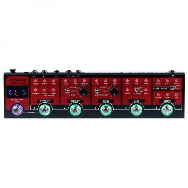 RED TRUCK Pedal de efectos combinados MOOER