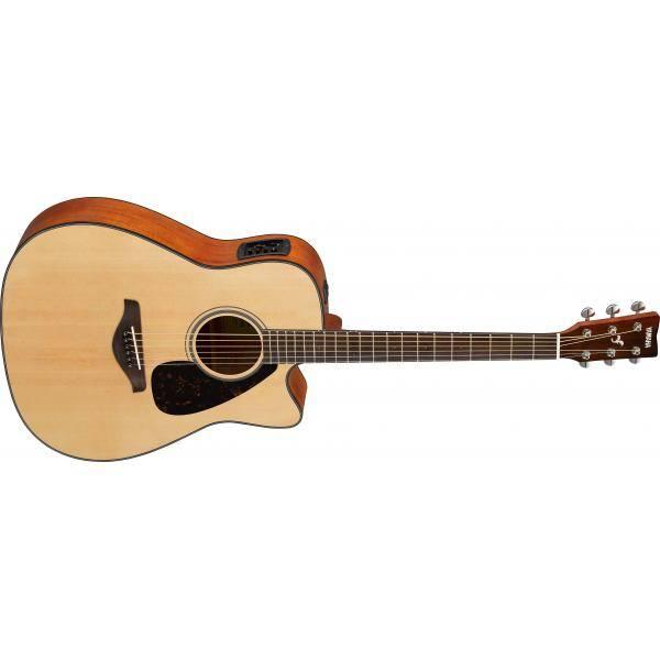 Yamaha FGX800C BL Guitarra Electroacústica